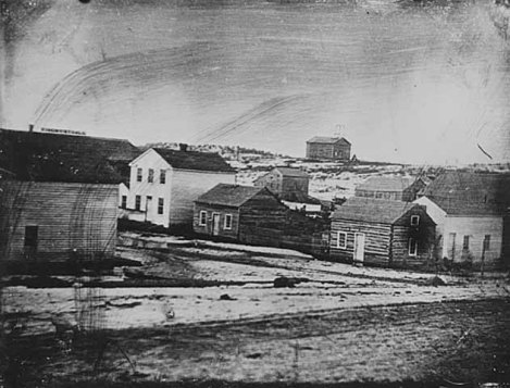 View of St. Paul 1851